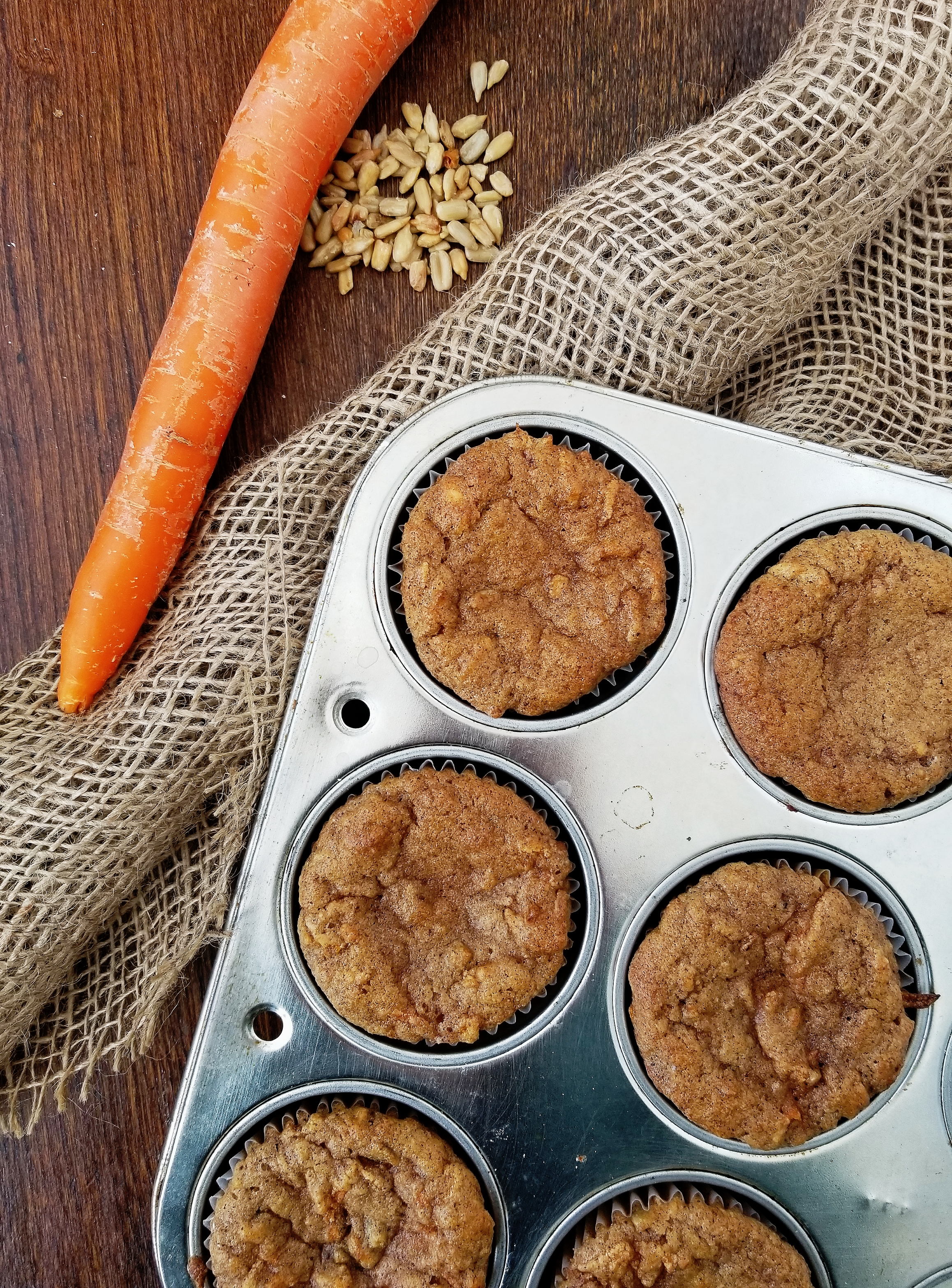 Moist low carb Keto carrot muffins – Higeli's Kitchen